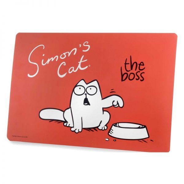 ZOOSHOP.ONLINE - Zoopreču internetveikals - Simon's Cat paklājiņš zem bļodas