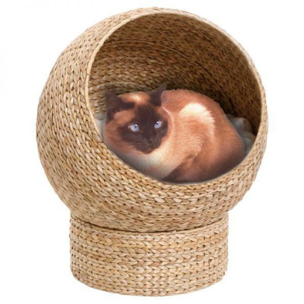 ZOOSHOP.ONLINE - Zoopreču internetveikals - Karlie Banana-Leaf kaķu un mazo suņu grozs