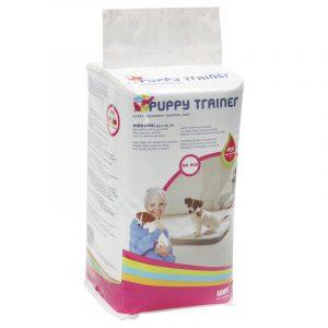 ZOOSHOP.ONLINE - Zoopreču internetveikals - Savic Puppy Trainer higiēniskie paladziņi suņiem  M 45 x 30cm 50gb