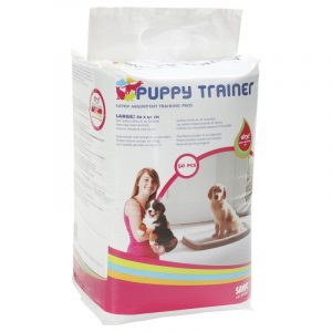 ZOOSHOP.ONLINE - Zoopreču internetveikals - Savic Puppy Trainer higiēniskie paladziņi suņiem L 60 x 45cm 50gb