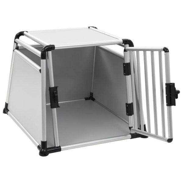 ZOOSHOP.ONLINE - Интернет-магазин зоотоваров - Алюминиевая транспортировочная клетка  для собак 76 х 84 х 66 см