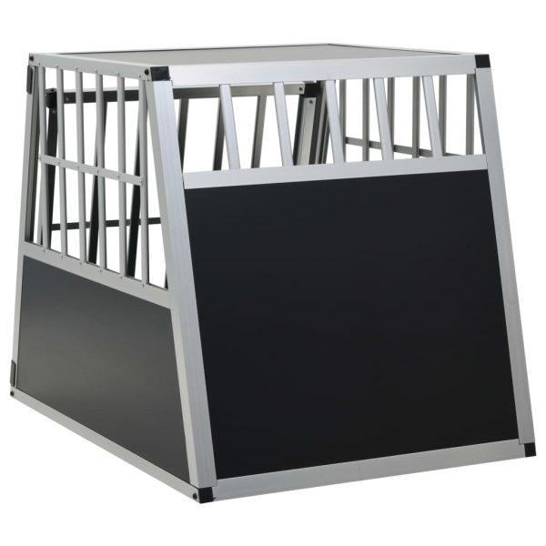 ZOOSHOP.ONLINE - Интернет-магазин зоотоваров - Алюминиевая клетка в машину 65x91x69,5 см