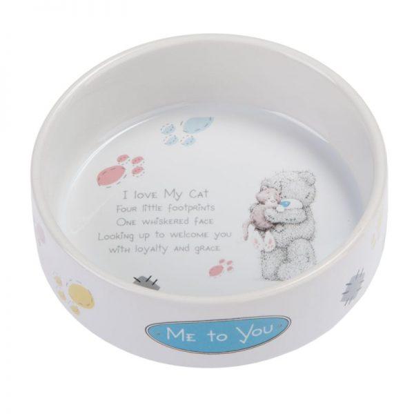 ZOOSHOP.ONLINE - Интернет-магазин зоотоваров - Me to You керамическая миска для кошек