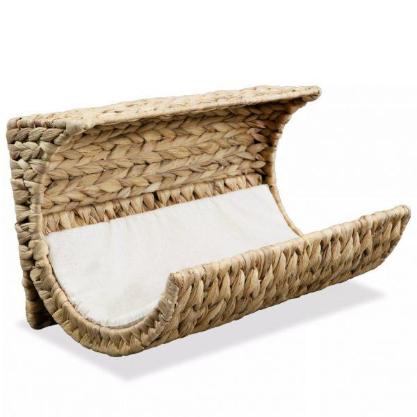 ZOOSHOP.ONLINE - Интернет-магазин зоотоваров - Плетеная кроваткa для кошек с подушкой