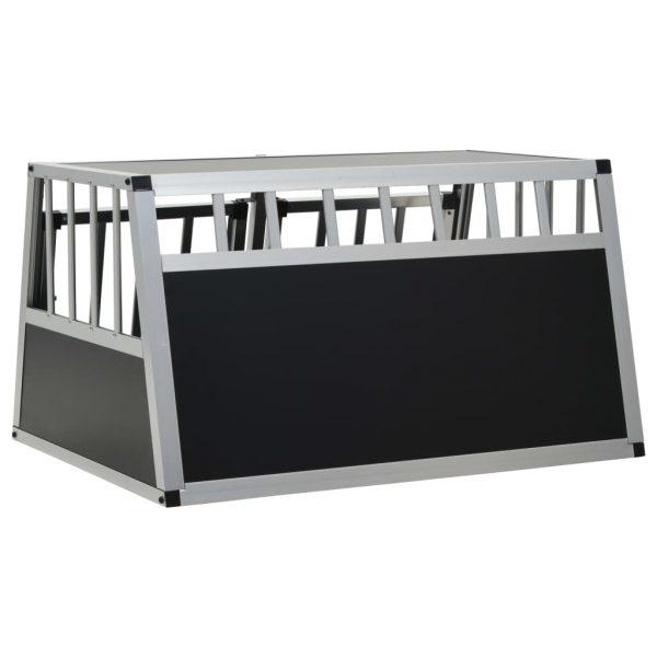 ZOOSHOP.ONLINE - Интернет-магазин зоотоваров - Алюминиевая клетка в машину 89x69x50 см