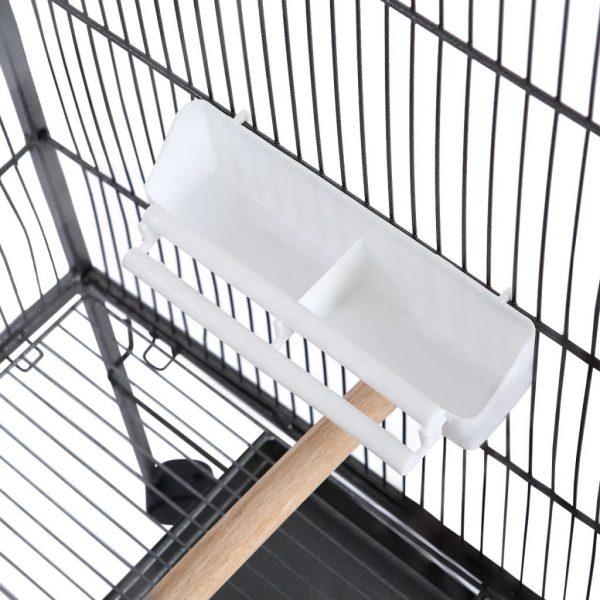 ZOOSHOP.ONLINE - Интернет-магазин зоотоваров - Клетка для птиц-54 х 54 х 146 см (Чёрная)