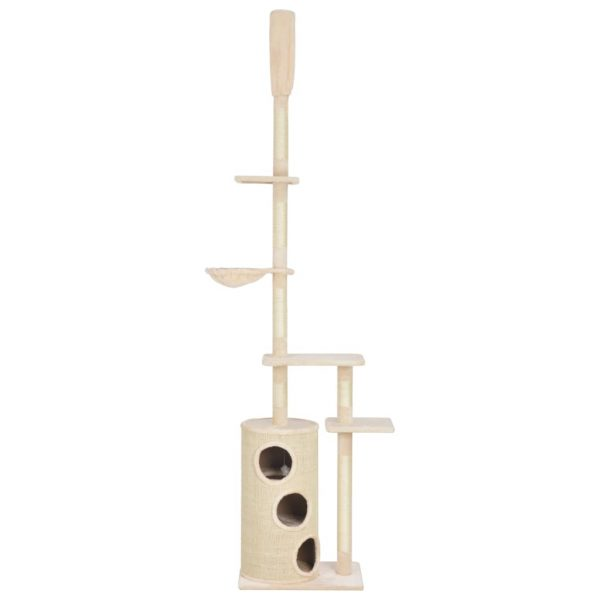 ZOOSHOP.ONLINE - Zoopreču internetveikals - Kaķu māja muca ar spēles kompleksu 260 cm