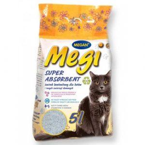 ZOOSHOP.ONLINE - Zoopreču internetveikals - Smiltis kaķu tualetei Megi 5l