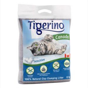 ZOOSHOP.ONLINE - Zoopreču internetveikals - Pakaiši kaķu tualetei 12.kg (bez smaržas) Tigerino Canada