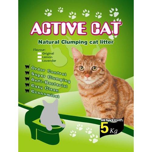 ZOOSHOP.ONLINE - Интернет-магазин зоотоваров - Цементирующий наполнительActive Cat 5kg