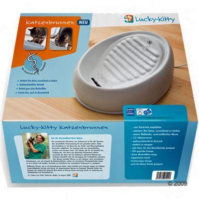 ZOOSHOP.ONLINE - Интернет-магазин зоотоваров - Lucky Kitty керамическая поилка-фонтан