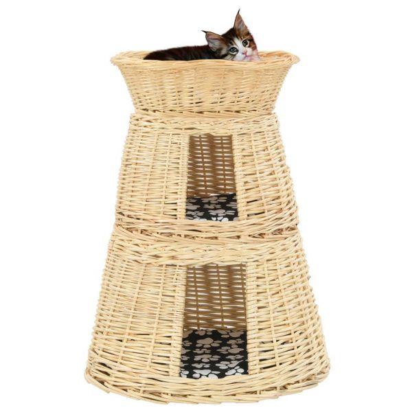ZOOSHOP.ONLINE - Интернет-магазин зоотоваров - Лежанка для кошек с подушками 47 x 34 x 60 см