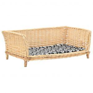 ZOOSHOP.ONLINE - Интернет-магазин зоотоваров - Плетёный диван-корзина для собак 90 x 54 x 35 см