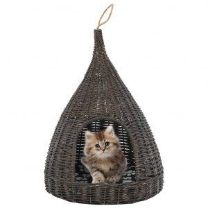 ZOOSHOP.ONLINE - Zoopreču internetveikals - Gulta kaķiem no Vītola ar spilvenu 40 x 60 cm