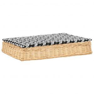 ZOOSHOP.ONLINE - Zoopreču internetveikals - Plakana pīta gulta suņiem 90 x 65 x 15 cm
