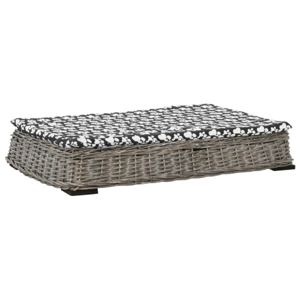 ZOOSHOP.ONLINE - Zoopreču internetveikals - Plakana pīta gulta suņiem 95 x 65 x 15 cm