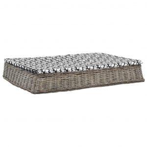 ZOOSHOP.ONLINE - Zoopreču internetveikals - Plakana pīta gulta suņiem 110 x 75 x 15 cm