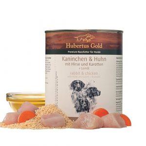 ZOOSHOP.ONLINE - Zoopreču internetveikals - Hubertus Gold Dog Adult Rabbit & Chicken 800g