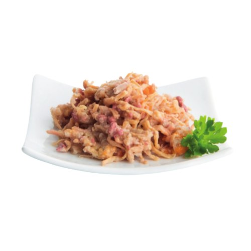 ZOOSHOP.ONLINE - Интернет-магазин зоотоваров - Nuevo Delicate Cat Adult Turkey Filet Beef 85 гр