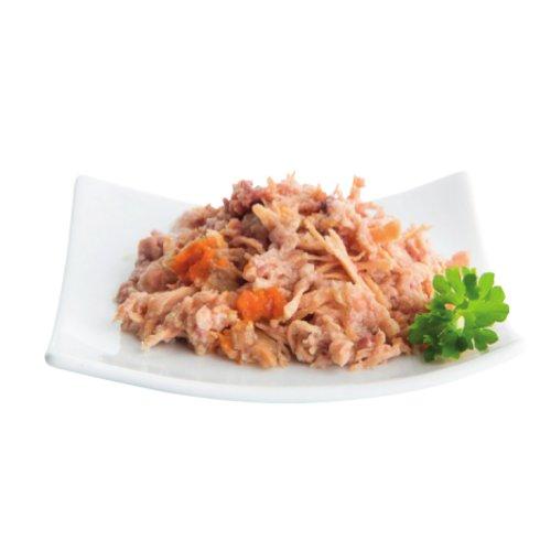 ZOOSHOP.ONLINE - Интернет-магазин зоотоваров - Nuevo Finest Cat Adult Chicken Filet Salmon & Carrots 85 гр