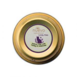 ZOOSHOP.ONLINE - Интернет-магазин зоотоваров - Nuevo Tasty Cat Adult Salmon Filet Turkey 85 гр