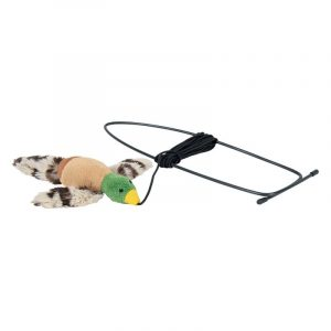 ZOOSHOP.ONLINE - Zoopreču internetveikals - Trixie  rotaļlieta durvju rāmjiem / putniņš