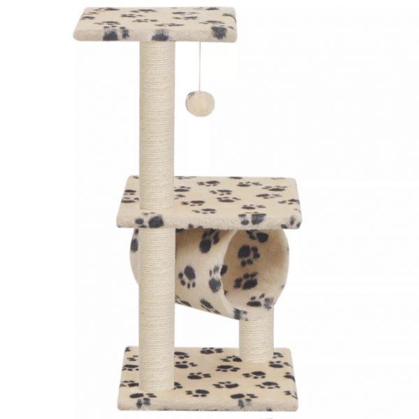 ZOOSHOP.ONLINE - Интернет-магазин зоотоваров - Домик для котят 65 см, бежевый с рисунком