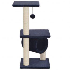 ZOOSHOP.ONLINE - Zoopreču internetveikals - Māja kaķēniem 65 cm, zila