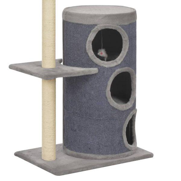ZOOSHOP.ONLINE - Zoopreču internetveikals - Kaķu mājas muca ar mini spēļu kompleksu 148 cm
