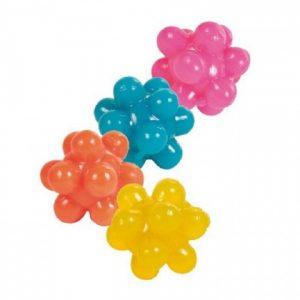 ZOOSHOP.ONLINE - Zoopreču internetveikals - Rotaļlieta kaķiem - Trixie 4knops balls, rubber, 3.5cm