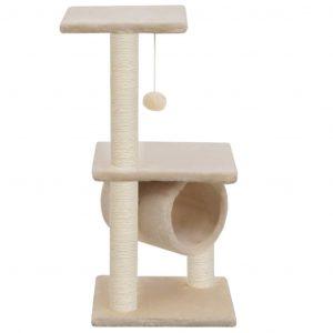 ZOOSHOP.ONLINE - Zoopreču internetveikals - Māja kaķēniem 65 cm, bēša