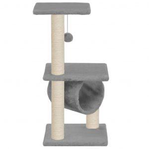 ZOOSHOP.ONLINE - Zoopreču internetveikals - Māja kaķēniem 65 cm, pelēka