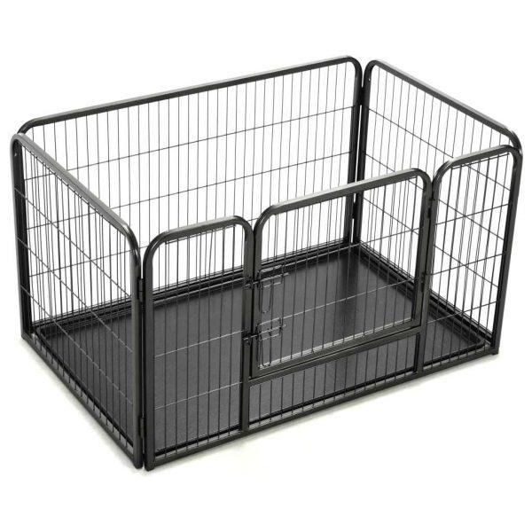 ZOOSHOP.ONLINE - Интернет-магазин зоотоваров - Playpen Puppy металлический манеж для собак 125 x 80 x 70 см