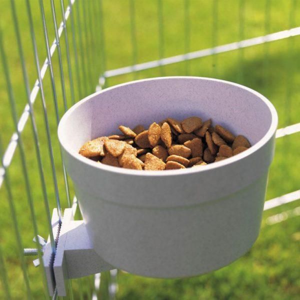 ZOOSHOP.ONLINE - Интернет-магазин зоотоваров - Чаша для еды и воды с винтовой фиксацией 550 мл