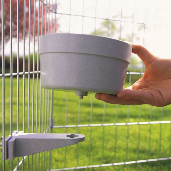 ZOOSHOP.ONLINE - Интернет-магазин зоотоваров - Чаша для еды и воды с винтовой фиксацией 300 мл
