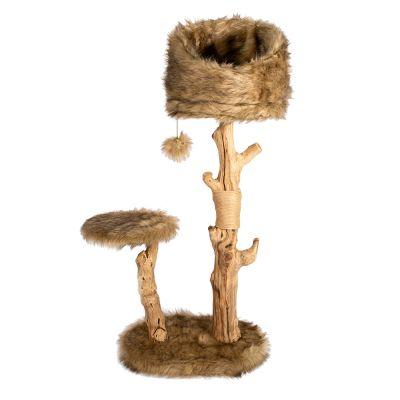 ZOOSHOP.ONLINE - Интернет-магазин зоотоваров - Кошачье дерево Karlie. В 99-109 х Д 50 х Ш 40 см