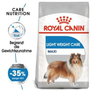 ZOOSHOP.ONLINE - Zoopreču internetveikals - Sausa suņu barība Royal Canin CCN Light Weight Care Maxi 10kg.