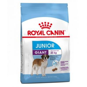 ZOOSHOP.ONLINE - Zoopreču internetveikals - Sausa suņu barība Royal Canin Giant Junior 15kg.