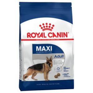 ZOOSHOP.ONLINE - Zoopreču internetveikals - Sausa suņu barība Royal Canin Maxi Adult 15 kg.