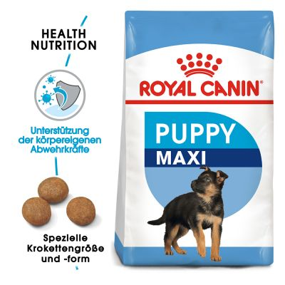 ZOOSHOP.ONLINE - Интернет-магазин зоотоваров - Сухой корм для щенков Royal Canin Maxi Puppy 15kg.