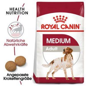 ZOOSHOP.ONLINE - Zoopreču internetveikals - Sausa suņu barība Royal Canin Medium Adult 15kg.