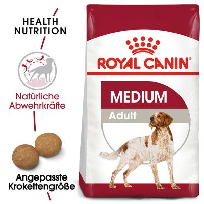 ZOOSHOP.ONLINE - Интернет-магазин зоотоваров - Сухой корм для собак Royal Canin Medium Adult 15kg.