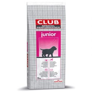 ZOOSHOP.ONLINE - Zoopreču internetveikals - Sausa suņu barība Royal Canin Special Club Performance Junior 15kg.