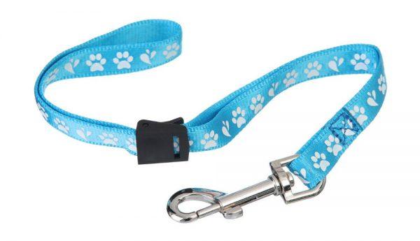 ZOOSHOP.ONLINE - Zoopreču internetveikals - Gruminga galda cilpa suņiem Amoz Pro 1.5 cm / 40 cm gaiši zila