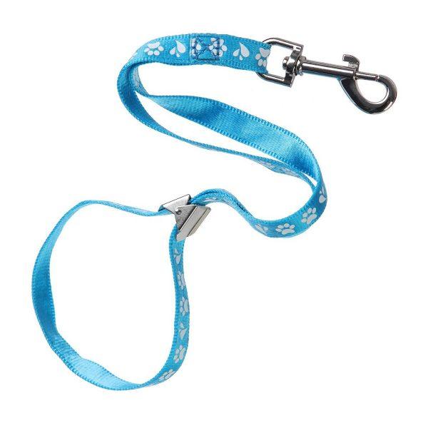 ZOOSHOP.ONLINE - Интернет-магазин зоотоваров - Нейлоновая петля для удержания собаки Ajax Pro 1.5 см / 42 см голубая