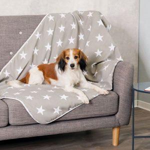 ZOOSHOP.ONLINE - Zoopreču internetveikals - Pleds Trixie Stars 150 x 100 cm