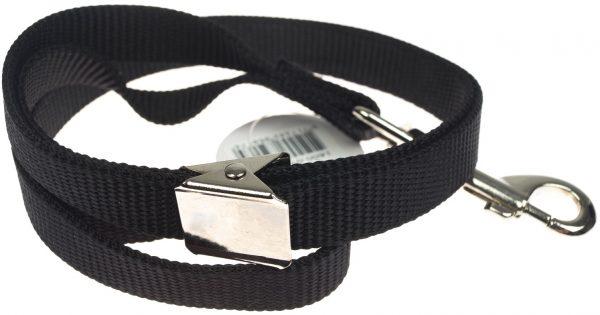 ZOOSHOP.ONLINE - Интернет-магазин зоотоваров - Петля для удержания собаки 1.6 см / 58 см чёрная