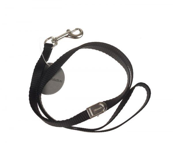 ZOOSHOP.ONLINE - Интернет-магазин зоотоваров - Петля для удержания собаки 1.0 см / 58 см чёрная