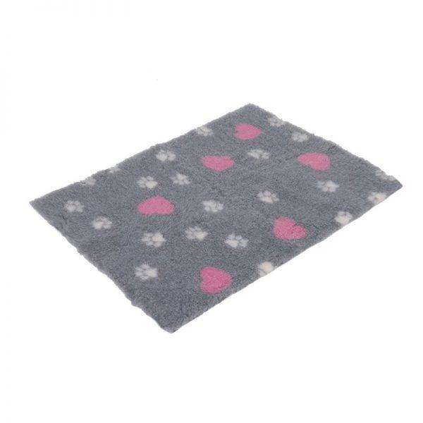 ZOOSHOP.ONLINE - Интернет-магазин зоотоваров - Mягкое одеяло Isobed SL 100 х 75 х 2,5 см (серое)