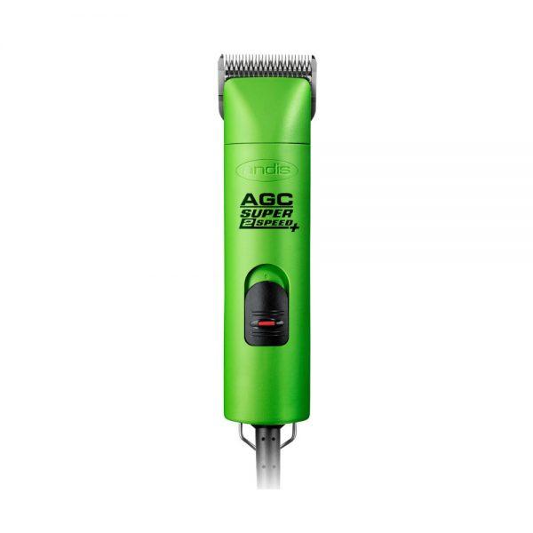 ZOOSHOP.ONLINE - Интернет-магазин зоотоваров - Машинка для груминга Andis AGC с 2 режимами (зеленый цвет)